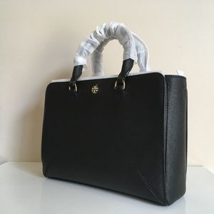 TORY BURCH NWT EMERSON SMALL ZIP TOTE